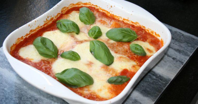Vegetarische ovenschotel met gnocchi