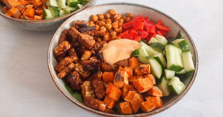 Vegetarische power salade
