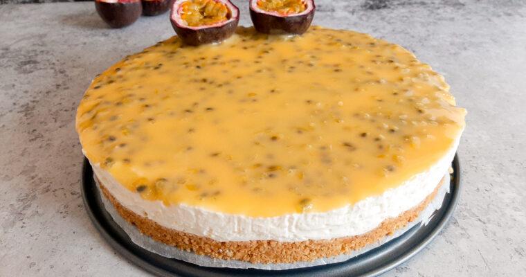 Pornstar Martini Cheesecake