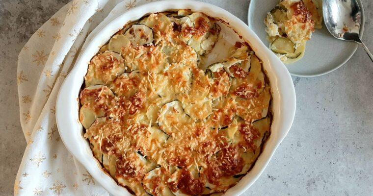 Courgettegratin met aardappel