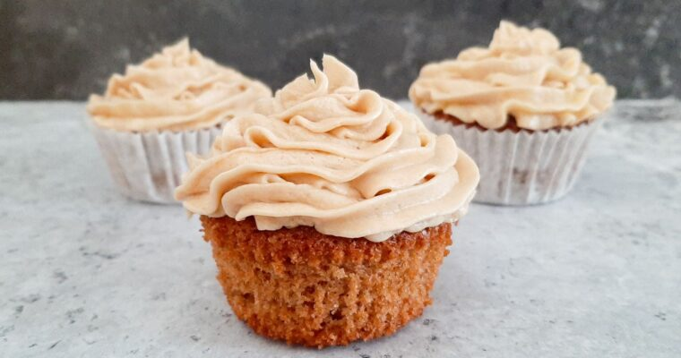 Speculaas cupcakes