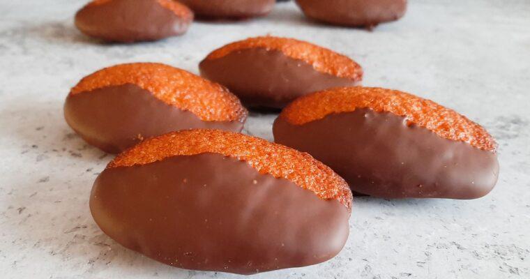 Madeleines met chocolade
