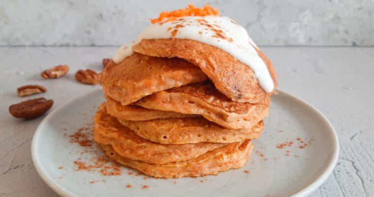 Carrot cake pannenkoekjes