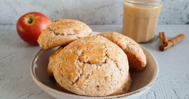 Appel-kaneel scones