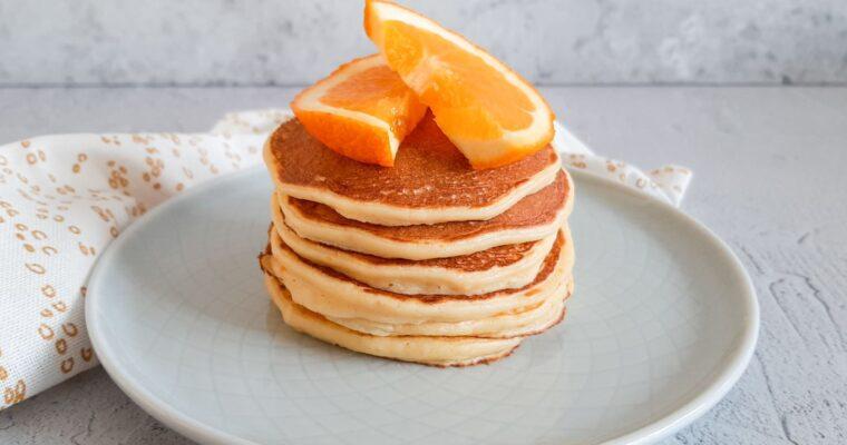 Frisse sinaasappel pannenkoekjes