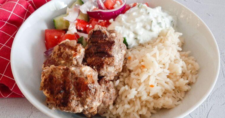 Bifteki bowl
