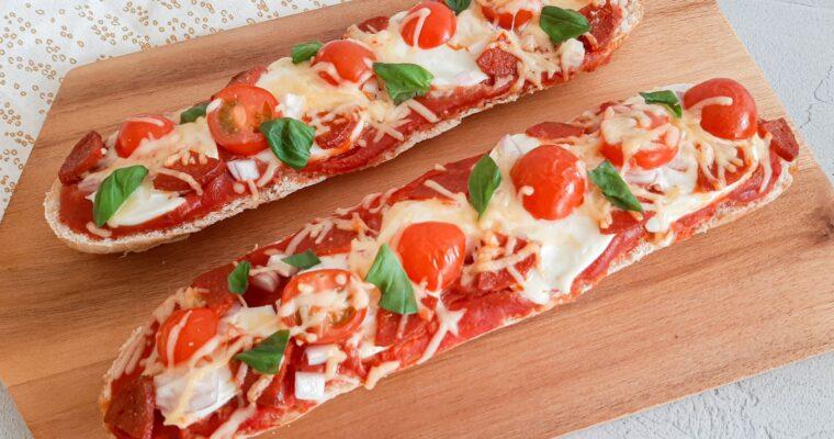 Stokbrood pizza
