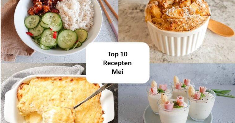 Top 10 recepten van mei – 2021