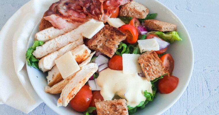 BLT salade met kip