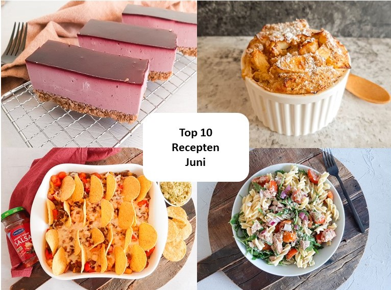Top 10 recepten van juni – 2021